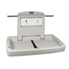 Rubbermaid Commercial Rubbermaid® Commercial Horizontal Baby Changing Station RCP 781888