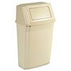 Rubbermaid Commercial Slim Jim® Wall-Mounted Container RCP7822BEI
