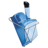 Rubbermaid Commercial Scoop with Hand-Guard and Holder RCP 9F51TBLU