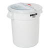 Rubbermaid Commercial Prosave® Sliding Lid w/BRUTE Container RCP 9G74 WHI