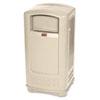 Rubbermaid Commercial Rubbermaid Commercial® Plaza™ Indoor/Outdoor Waste Container RCP 9P9000BG