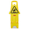 Rubbermaid Commercial Rubbermaid® Commercial Stable Multi-Lingual Safety Sign RCP 9S0900YEL
