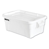 Rubbermaid Rubbermaid® Commercial BRUTE® Tote with Lid RCP9S30WHIEA