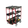 Rubbermaid Commercial Ladder Cart With Open Ends RCP 9T57 BLA