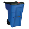 Rubbermaid Commercial Square Brute® Rollout Container RCP 9W21-73 BLU