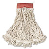 Rubbermaid Commercial Web Foot® Wet Mop Heads RCP A153 WHI