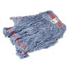 Rubbermaid Commercial Swinger Loop® Wet Mop Heads RCP C113 BLU
