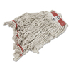 Rubbermaid Commercial Rubbermaid® Commercial Swinger Loop® Wet Mop Heads RCP C114WHI