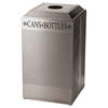 Rubbermaid Commercial Rubbermaid® Commercial Designer Line™ Silhouettes Waste Receptacle RCP DRR24CSS