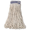 Rubbermaid Commercial Universal Headband Cotton Mop Heads RCP E139