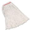Rubbermaid Commercial Rubbermaid® Commercial Non-Launderable Premium Cut-End Cotton Wet Mop Heads RCP F119WHI