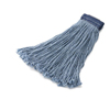 Rubbermaid Commercial Non-Launderable Cotton/Synthetic Cut-End Wet Mop Heads RCP F558BLU