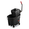 Rubbermaid Commercial Rubbermaid Commercial WaveBrake 2.0 Bucket/Wringer Combos RCP FG1863896