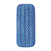 Rubbermaid Commercial HYGEN™ Microfiber Wet Mopping Pad RCP Q820 BLU