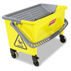 rubbermaid 30 gallon bucket: Rubbermaid® Commercial HYGEN™ HYGEN™ Press Wring Bucket
