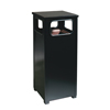 Steel Receptacles With Hooded Top: Aspen Series Receptacles