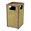 waste receptacle and can liners: Aspen Series Receptacles