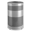 Rubbermaid Rubbermaid® Commercial Classics Open Top Waste Receptacle RCP S55ETSMPLBK