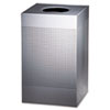 United Receptacle Designer Line. Silhouettes Waste Receptacle RCP SC18EPLSM
