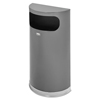 Rubbermaid Rubbermaid® Commercial Half Round Flat Top Waste Receptacle RCP SO820PLANT