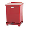 United Receptacle United Receptacle Defenders® Biohazard Heavy-Duty Steel Step Cans RCP ST7ERDPL