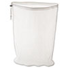 Rubbermaid Commercial Laundry Net, 24w x 24d x 36h, Synthetic Fabric, White RCP U210