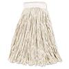Rubbermaid Commercial Non-Launderable Economy Cut-End Cotton Wet Mop Heads RCP V156