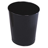 Rubbermaid Commercial Rubbermaid® Commercial Fire-Safe Steel Round Wastebaskets RCP WB26BK