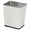 waste basket: Rectangular Stainless Steel Wastebasket