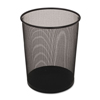 Rubbermaid Commercial Rubbermaid® Commercial Steel Mesh Wastebasket RCP WMB20BKCT