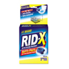 cleaning chemicals, brushes, hand wipers, sponges, squeegees: RID-X Septic System Treatments