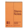 school notebooks and business notebooks: National® Brand Standard Spiral Steno Book