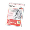 Rediform Rediform® Desk Saver Line™ Wirebound Message Book RED 47296