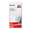 Ring Panel Link Filters Economy: Rediform® Semi-Monthly Employee Time Card