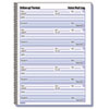 Rediform Rediform® Voice Mail Wirebound Log Books RED 51114
