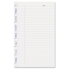 Rediform MiracleBind Ruled Paper Refill Sheets, 8 x 5, White, 50 Sheets/Pack REDAFR6050R