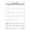 Rediform Blueline® Net Zero Carbon™ Monthly Wall Calendar RED C171303