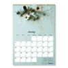 Blueline Brownline® Twin Wirebound Wall Calendar, One Month per Page RED C173122