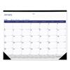 Rediform Blueline® DuraGlobe™ Monthly Desk Pad Calendar RED C177227