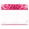 Rediform Brownline® Pink Ribbon Monthly Desk Pad Calendar RED C1832PNK