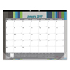 Blueline Brownline® Monthly Deskpad Calendar RED C194113