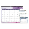 Blueline Blueline® Trendy Monthly Desk Pad RED C194125