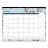Blueline Blueline® Trendy Monthly Desk Pad RED C194127