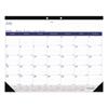 Blueline Academic Desk Pad Calendar, 22 x 17, White/Blue/Gray, 2019-2020 RED CA177227