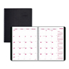 calendars: DuraFlex 14-Month Planner, 8 1/2 x 11, Black, 2018-2019