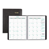 Clean and Green: EcoLogix Recycled Monthly Planner, 11 x 8 1/2, Black Soft Cover, 2019