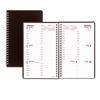 Rediform Brownline® DuraFlex Weekly Planner RED CB75VBLK