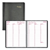 Rediform Brownline® Essential Collection Weekly Appointment Book in Columnar Format RED CB950BLK