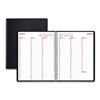 calendars: DuraFlex Weekly Planner, 8 1/2 x 11, Black, 2019