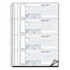 Rediform Rediform® Spiralbound Unnumbered Money Receipt Book RED S16444WCL